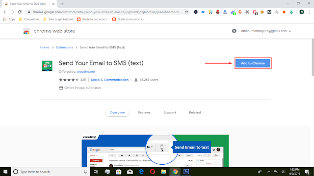 Email-To-Sms-Chrome-Extension