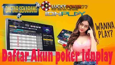 Daftar Akun poker Idnplay