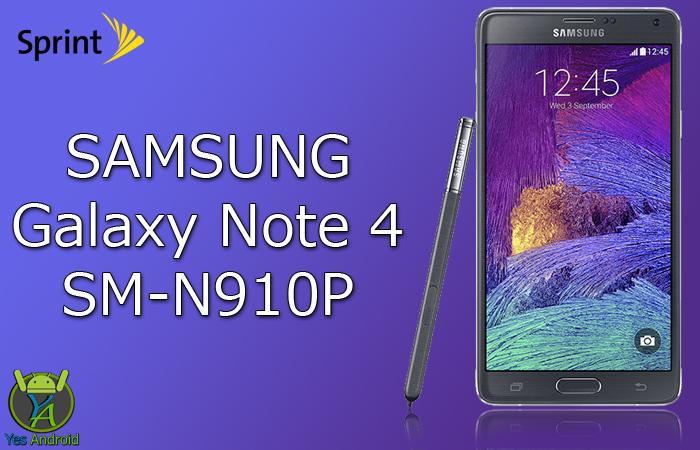 Download N910PVPS4DQB3 | Galaxy Note 4 (Sprint) SM-N910P