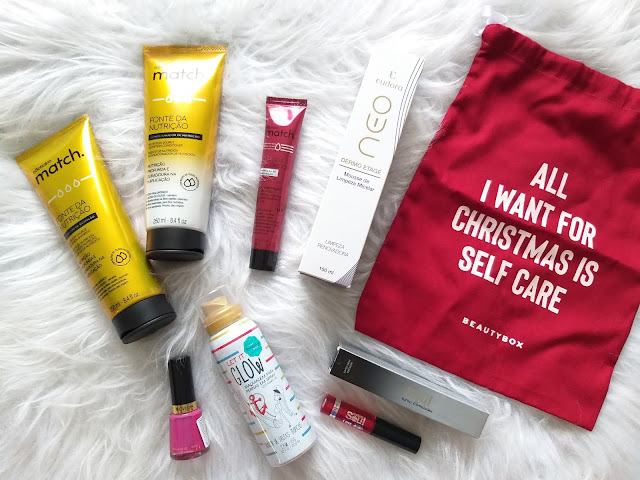 FIRST BOX DEZEMBRO BOX DA BEAUTY