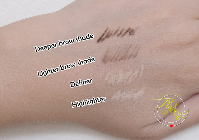 a swatch photo of Benefit Brow Contour Pro Review by Nikki Tiu of www.askmewhats.com