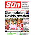 NAIJA NEWSPAPERS: TODAY'S THE DAILY SUN NEWSPAPER HEADLINES [12 OCTOBER, 2017]