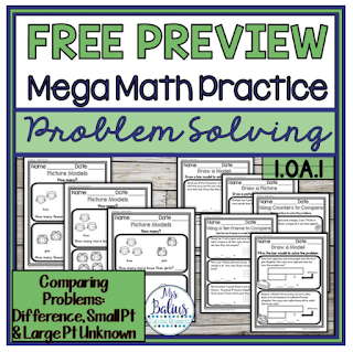 Grab this free problem solving resource for your classroom.