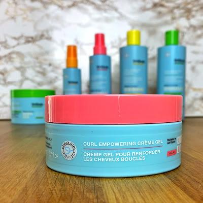 Curl Empowering Crème Gel Imbue Haarpflege für welliges und lockiges Haar nach der Curly Girl Methode