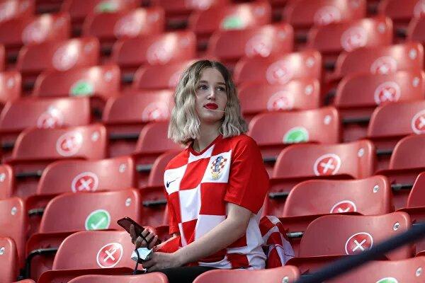 Fanática de Croacia