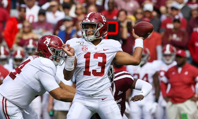Alabama,quarterback,Tagovailoa,NFL,draft