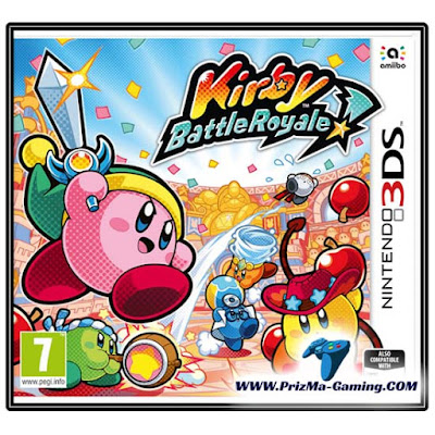 Kirby Battle Royale [USA/EUR] Decrypted ROM for Citra Nintendo 3DS