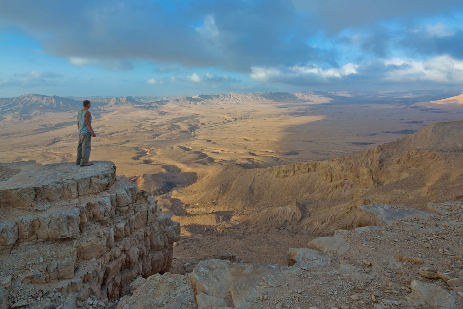 Trekking and Climbing Adventure in the Deserts of Israel