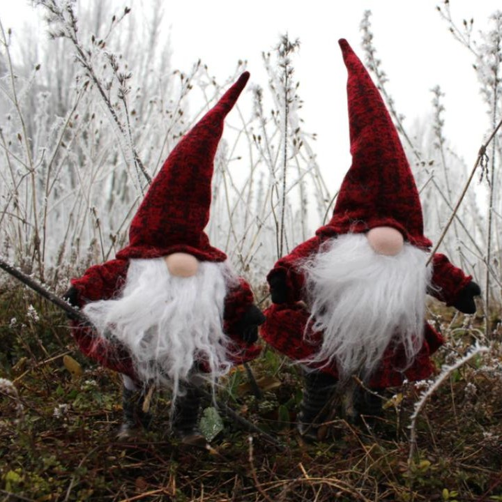 make easy and festive holiday gnomes with these tutorial diys