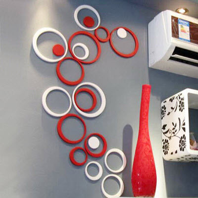 Likewise there are many wall decoration ideas which you can use in any  setting.