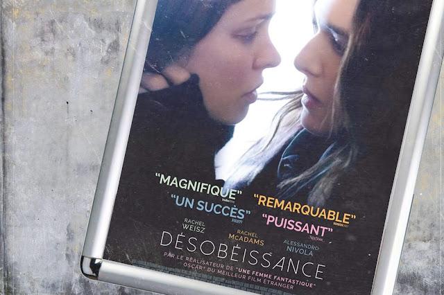 """Rachel Weisz et Rachel McAdams héroïnes puissantes de """"Désobéissance"""""""