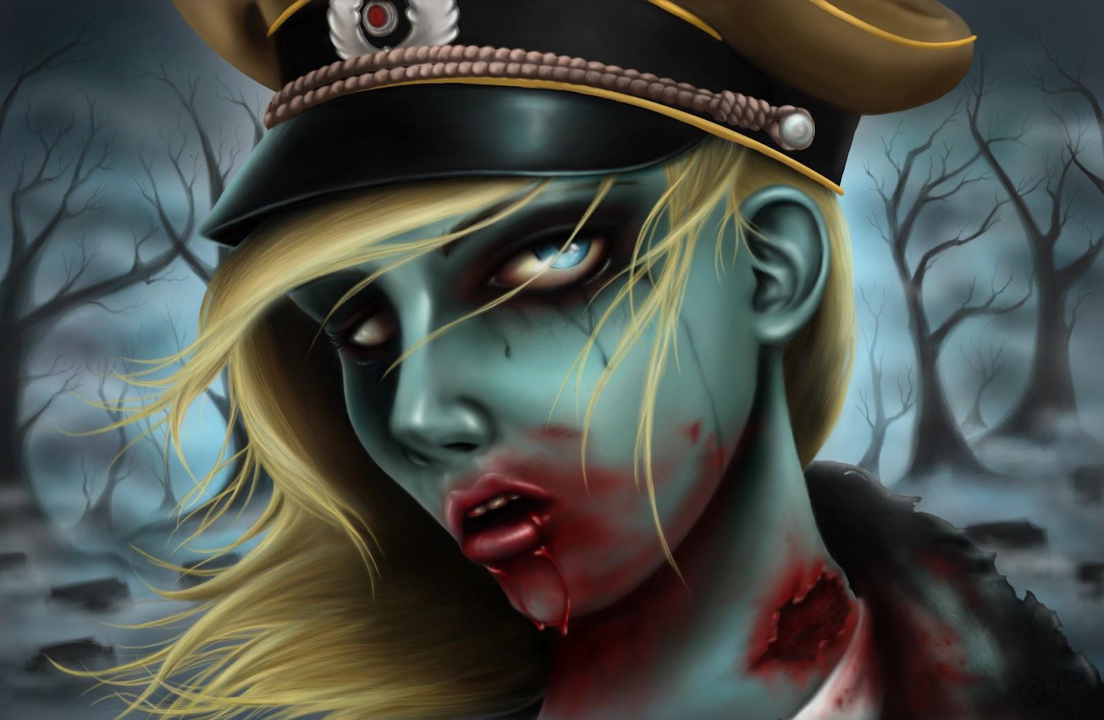 Arsh 3d Wallpaper Arquivo Do Morto Vivo Walpaper Terror
