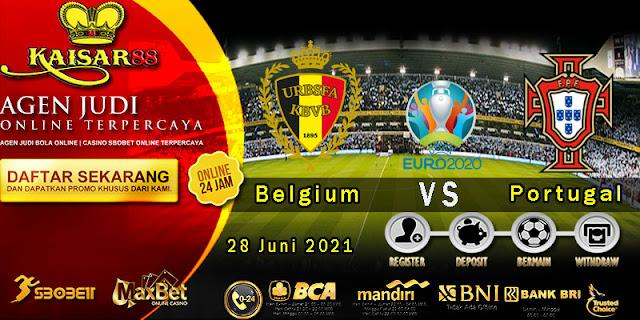 Prediksi Bola Terpercaya Piala Euro Belgia vs Portugal 2020 28 Juni 2021