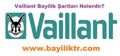 Vaillant Bayilik Şartları