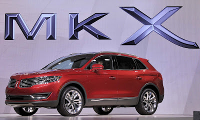 Lincoln MKX SUV front images