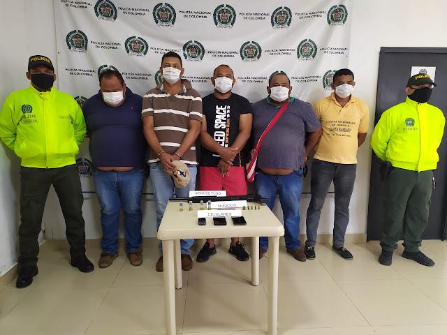 Banda de cuatreros 'Los Alambreros', cayó en Hatonuevo - La Guajira