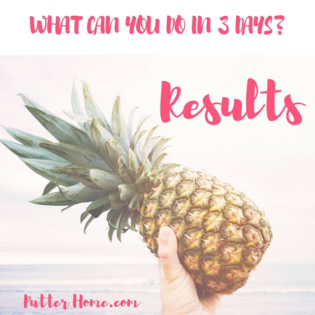3 Day Refresh Review - Day 3 & results, a detox and cleanse for your gut to promote healthy eating and weight loss | Putter Home