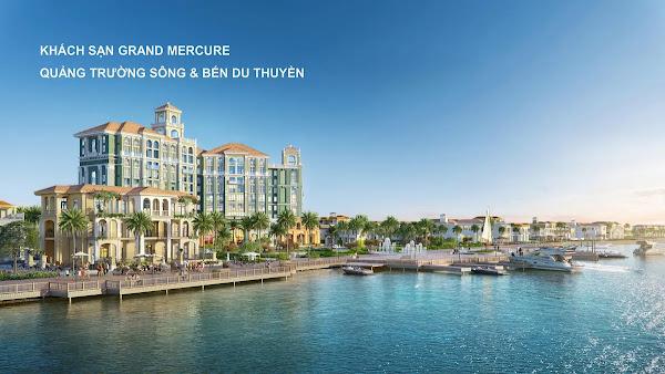 khách sạn grand mercure trong dự án Habana Island Hồ Tràm