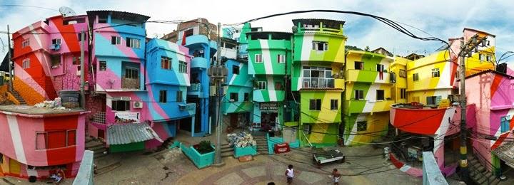 Colorful Cities Rio de Janeiro, Brazil