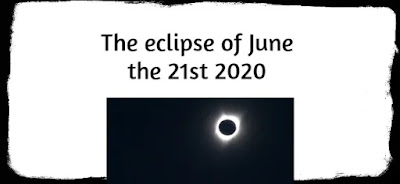 The eclipse of June the 21st 2020