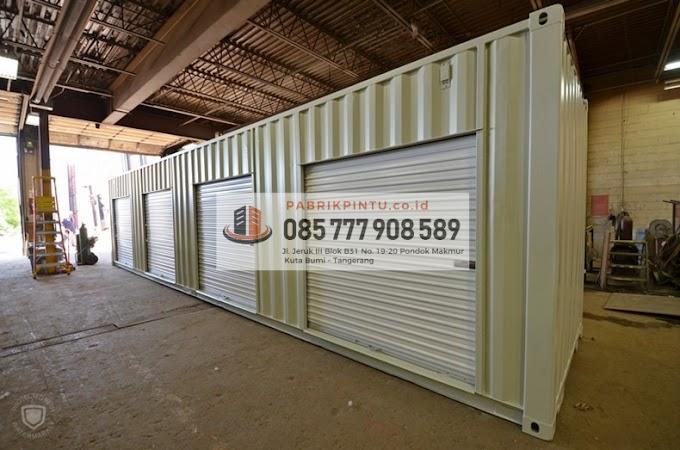 Distributor Rolling Door Terpercaya #1 Jambi 085 777 908 589 (Nopri)