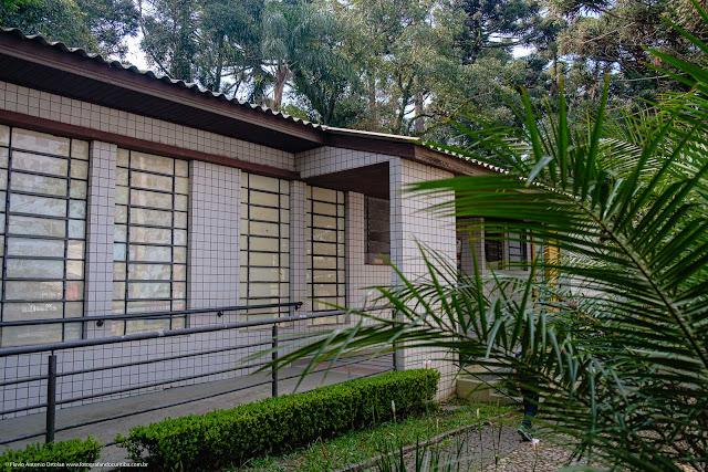 Museu de História Natural Capão da Imbuia - MHNCI - fachada principal