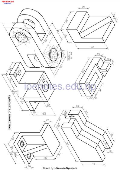 Engineering drawing tutorial pdf ioe