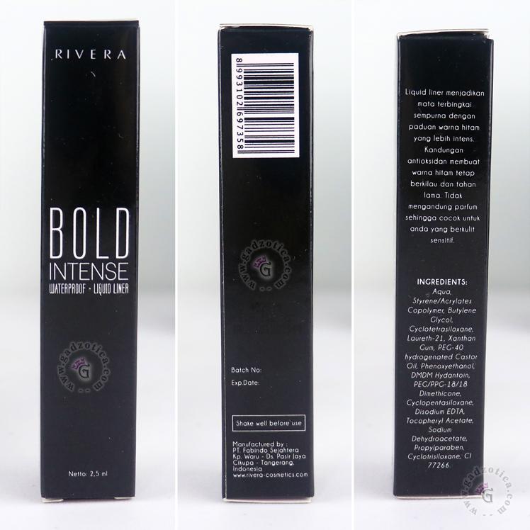 Review Rivera Bold Intense Liquid Liner