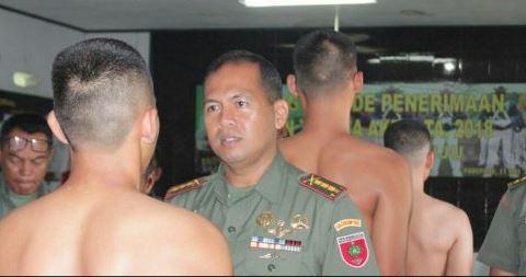 Komandan Korem 142/Tatag Mamuju Kolonel Infanteri Taufiq Sobri