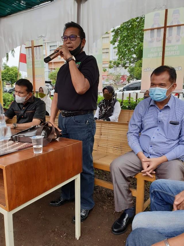 Ratusan KSB Relawan FaGe Se-Sumbar Ikrar Kebulatan Tekad | dutametro