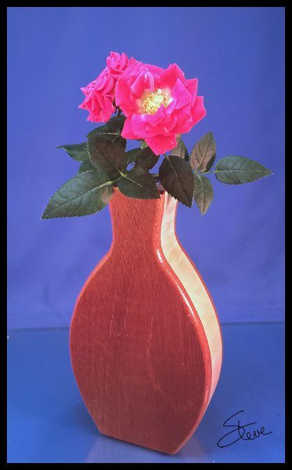 Scrollsaw Workshop Live Flower Scroll Saw Bud Vase