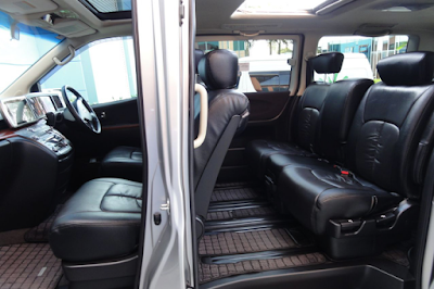 Interior Nissan Elgrand E51 Facelift