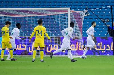 ملخص واهداف مباراة الاهلي والنصر (2-1) الدوري السعودي