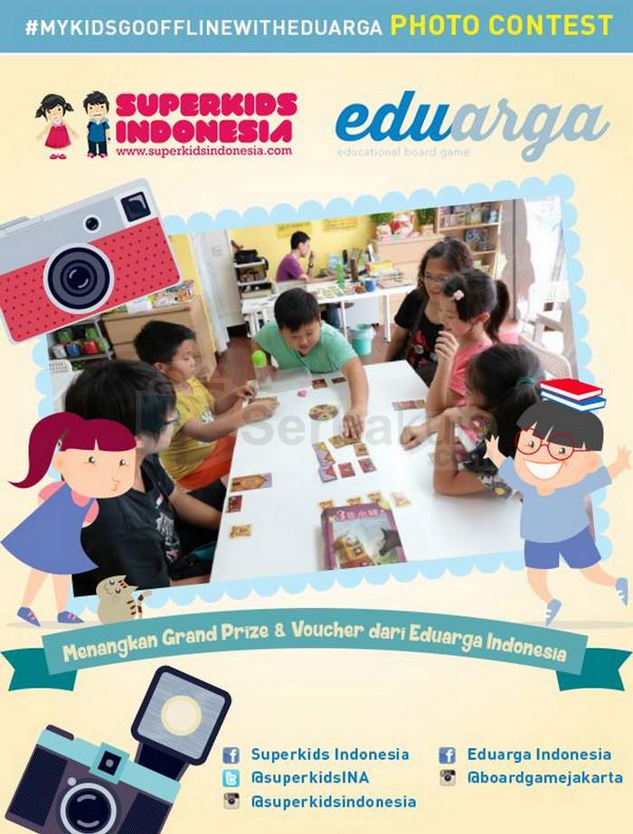 Kontes Foto Superkids Berhadiah Mainan Premium Board Game
