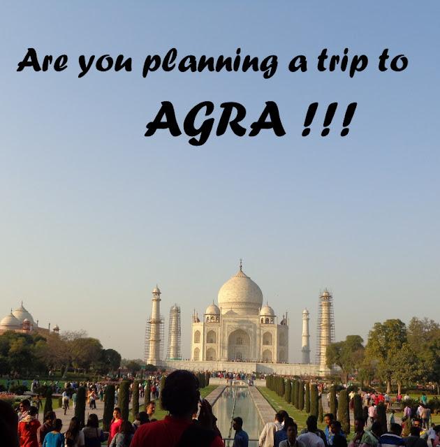 A Trip to Agra ....