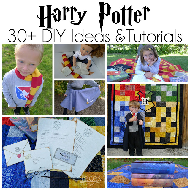 Easy Oly*Fun Harry Potter Costume w/ No-Sew Option
