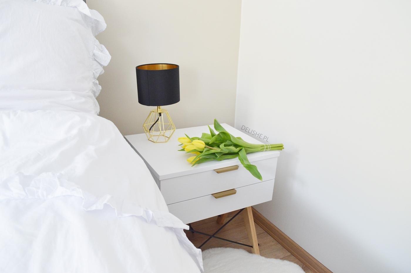 sypialnia skandynawska blog, dobre nawyki w kwarantannie