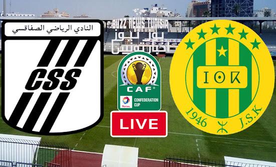 Match Club Sportif Sfaxien vs Jeunesse sportive de Kabylie Live Streaming