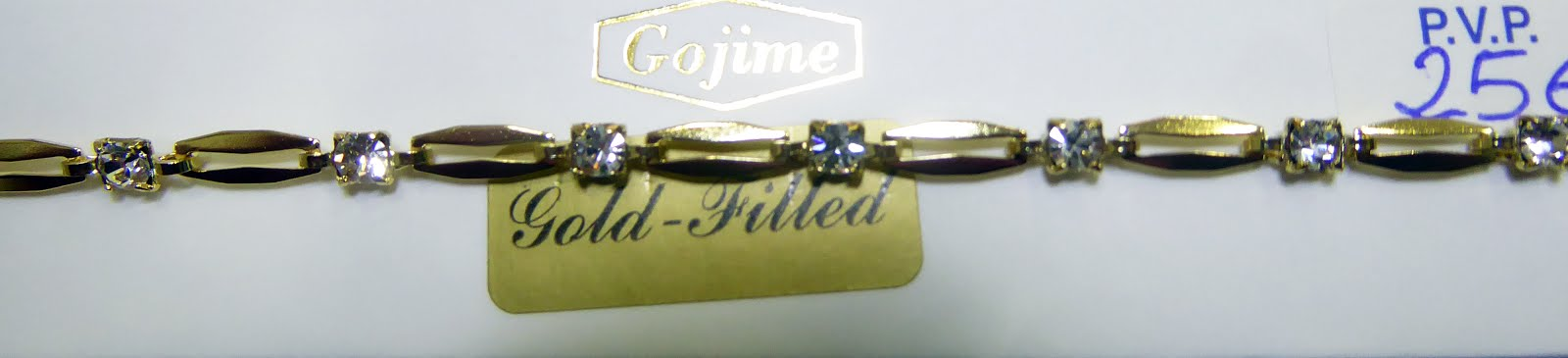 Pulsera de Goldfiled con circonitas