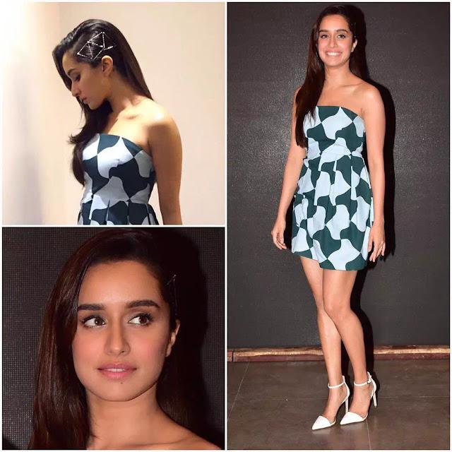 Shraddha Kapoor Sleek Layered Hairstyle