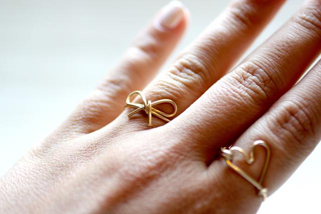 C mo hacer lindos anillos con alambre de cobre - Alambre de cobre ...