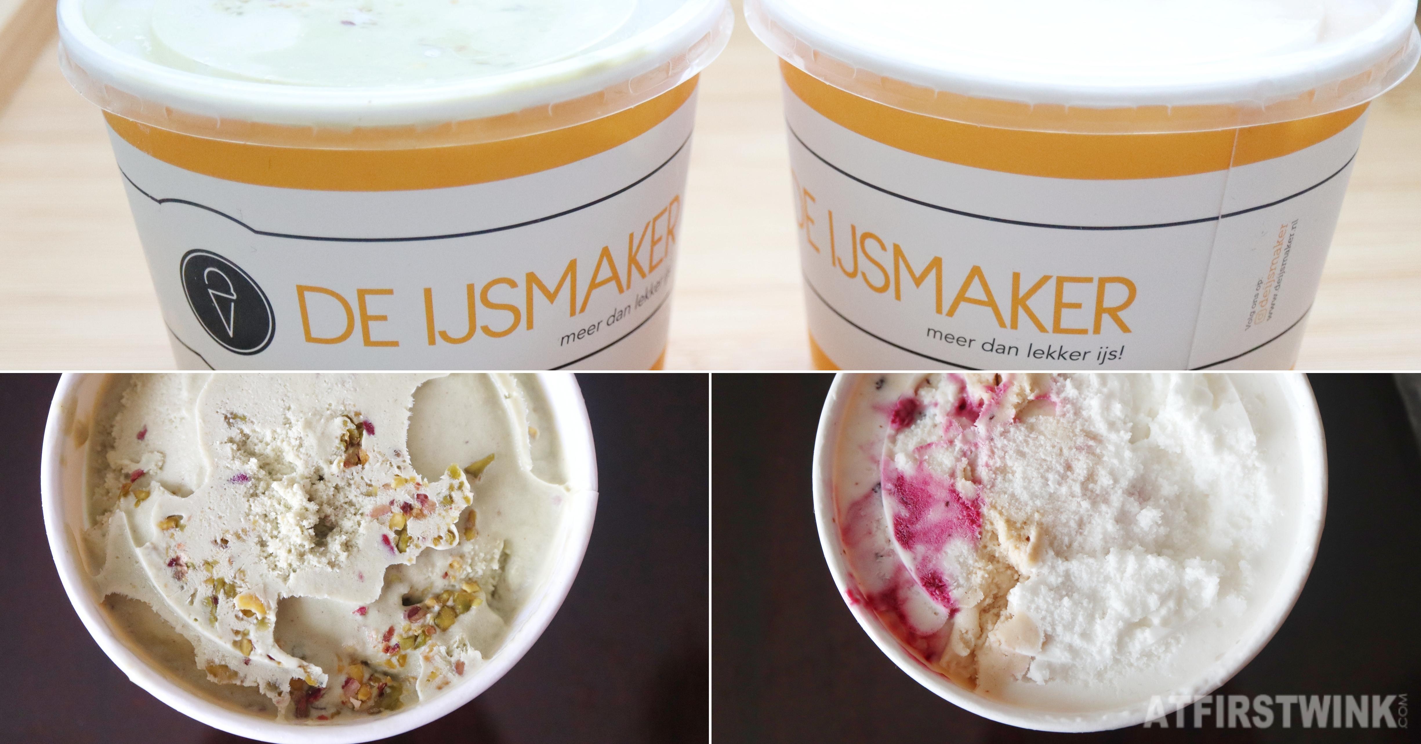 De IJsmaker Rotterdam ice cream takeout pints