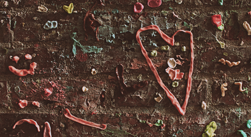 Gum Wall Location Pike Place Market Seattle