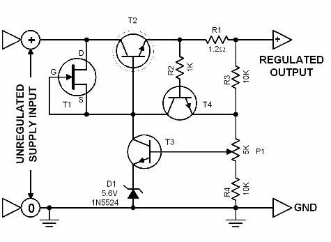 power-supply-regulator-circuit-diagrams