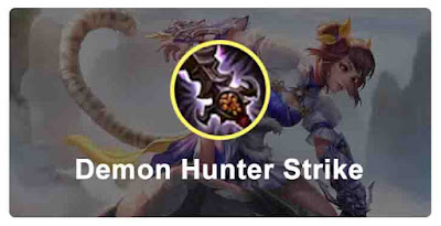 Item Wanwan Demon Hunter Strike Mobile Legends