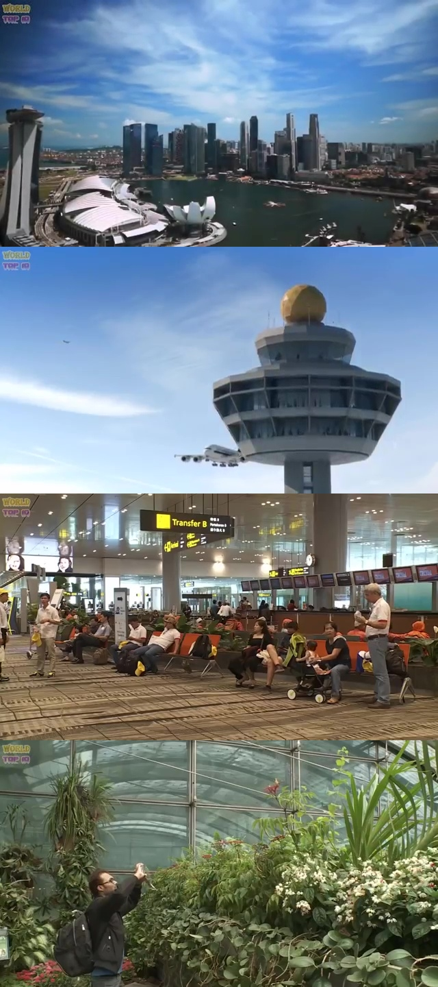 top airports in the world, top ten best airport, best airport in the world, top ten best airport in the world, Singapore Changi