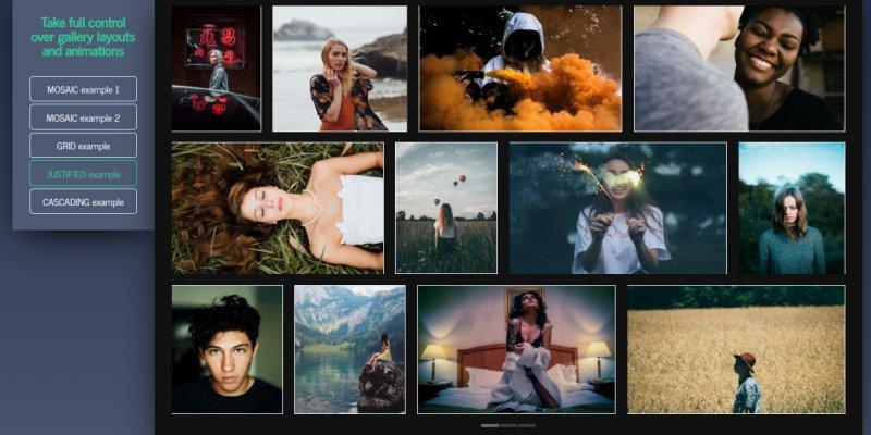 讓相簿圖片在網頁上呈現「瀑布流」+「自適應」版型﹍jQuery 畫廊外掛