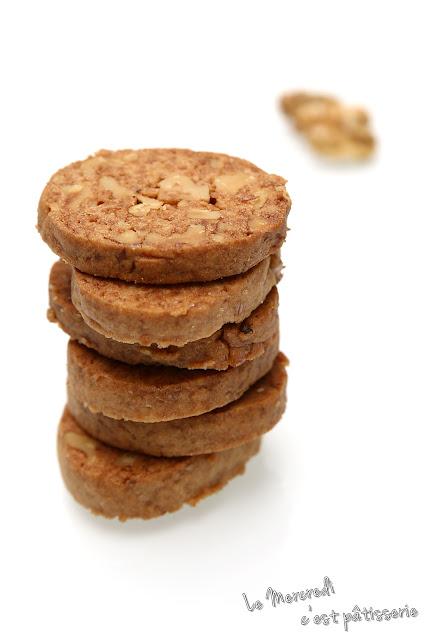 Biscuits craquants aux noix