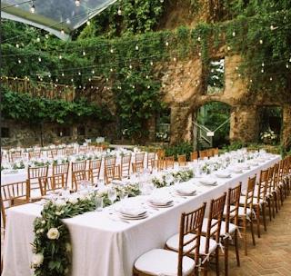 Natural green/ castle theme decor