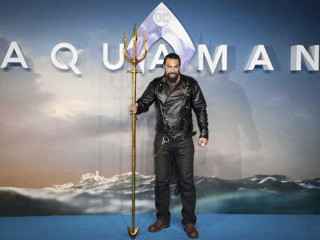 Momoa and Heard Take to Seas in Superhero Film 'Aquaman'